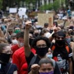 Anti racism protests in DC remain peaceful