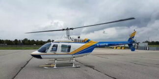 Bell 206-B3 helicopter