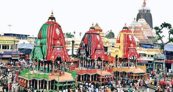 Lord Jagannath's chariots