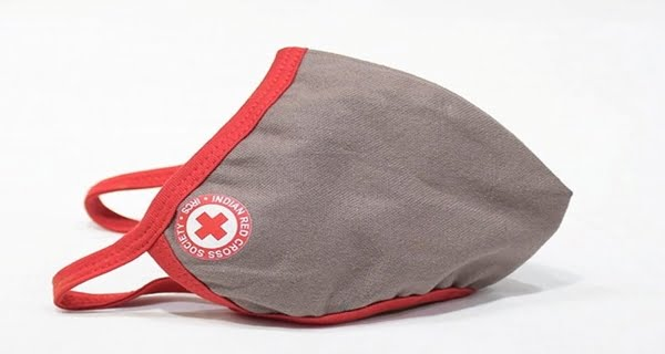 Redcross mask from KVIC