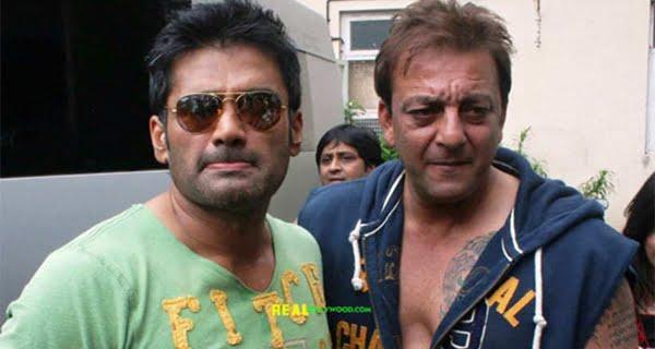 sanjay dutt aand sunil shetty