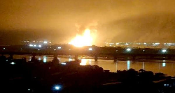 Massive fire broke out in Surat's ONGC plant