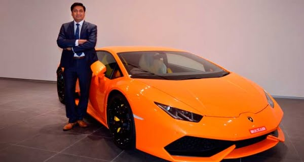 Sharad Aggarwal, head of Lamborghini India