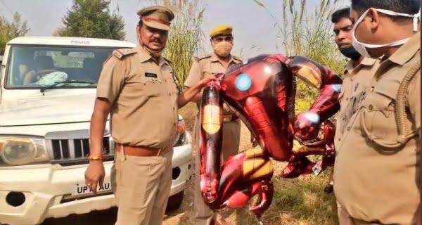 Iron Man' balloon