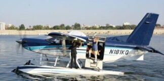 Launch of the country's first sea-plane service1