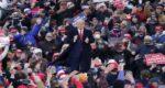 Trump two election rallies