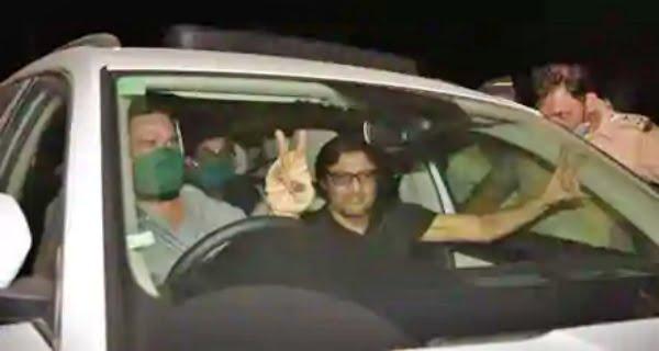 Arnab Goswami out of jail