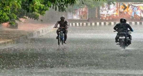 Havey rains