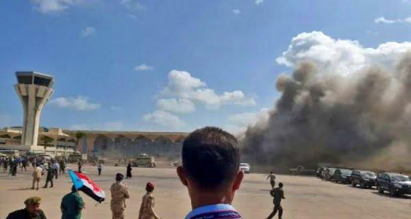 Blast at Yemen's Aden Airport