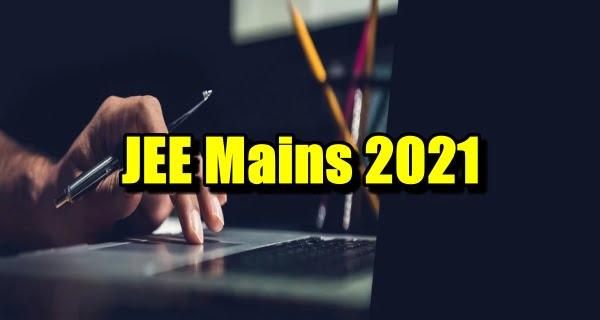 JEE Mains 2021