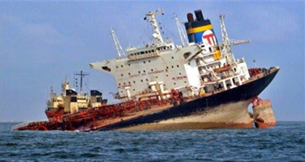 Cargo ship sunk in the Black Sea