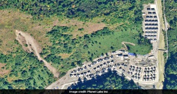 China reveals village near Arunachal Prades