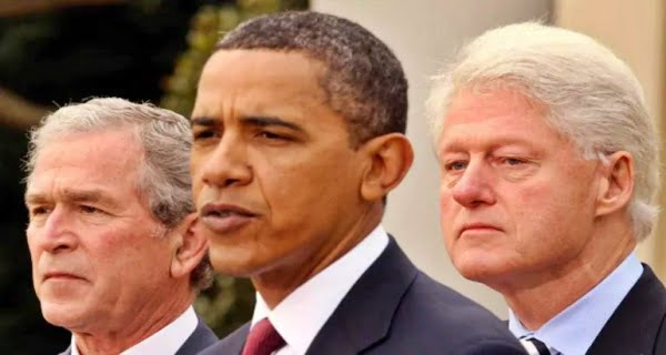 Former US presidents came together to wish Biden