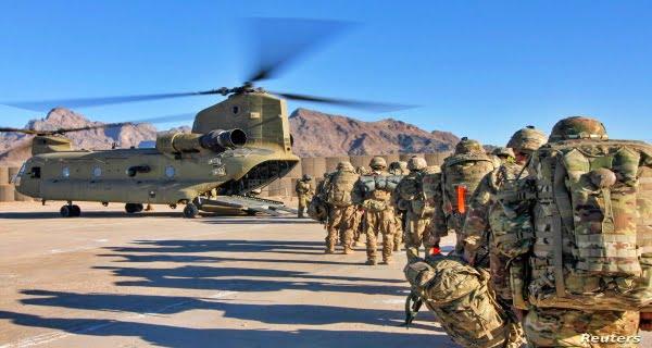 US reduces troops in Afghanistan