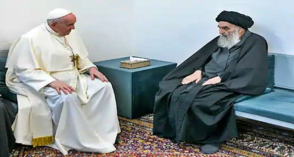 Pope Francis, Iraqs Top Shiite Cleric