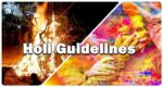 holi guide lines