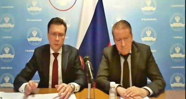 Babushkin, Russian Ambassador Nikolai Kudashev