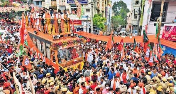 Bengal election, roadshow