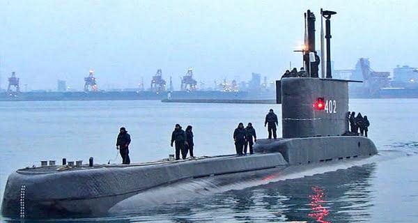Indonesian navy submarine