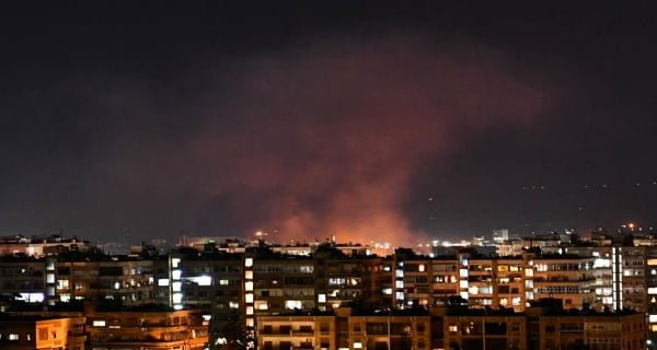 Israel retaliated after Syrian missile attack