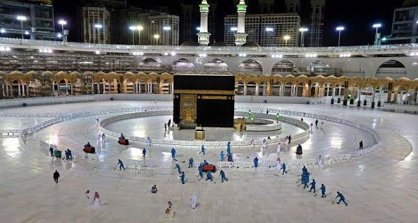 Mecca in this Ramadan