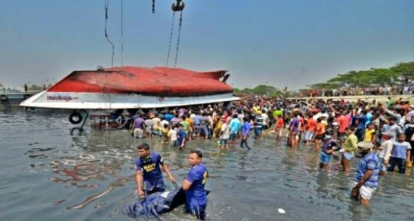 Passenger ship drowned