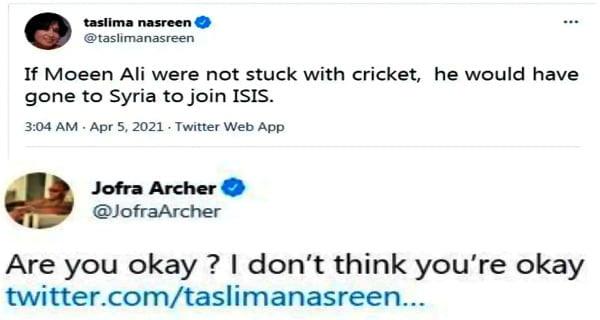 taslima moin ali tweet