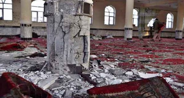 12 killed in mosque explosion in Kabul