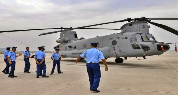 Air Force deploys 25 helicopters