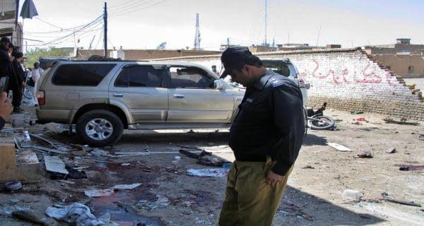 Bomb blast in Chaman town Pakistan