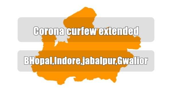 Corona curfew extended