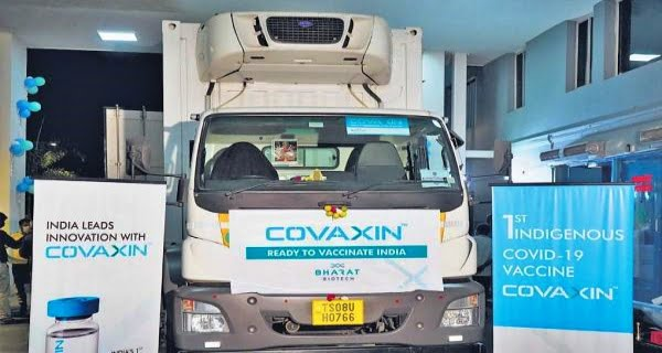 Covaxin-lorry