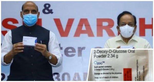 DRDO's anti-Covid drug 2-DG-launched