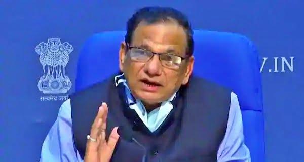 Dr. VK Paul of Niti Aayog