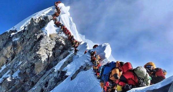 Everest mountainer
