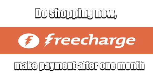 Freecharge new scheme