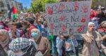 Palestinians strike in protest
