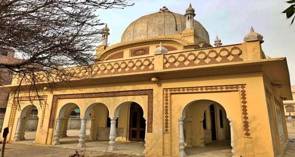 Sir Ganga Ram's mausoleum in Lahore