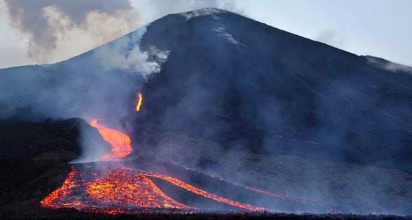 Volcano erupted near Congo town of Goma