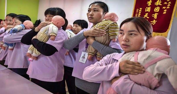three children in China