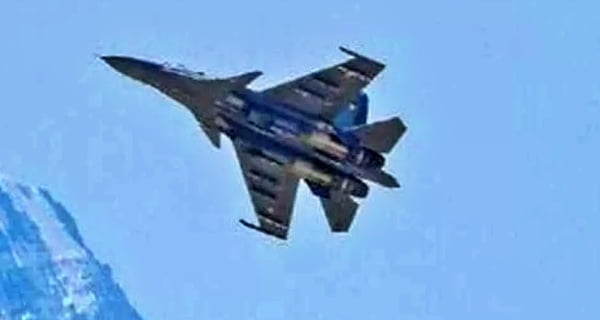Chinese Air Force exercises on LAC1