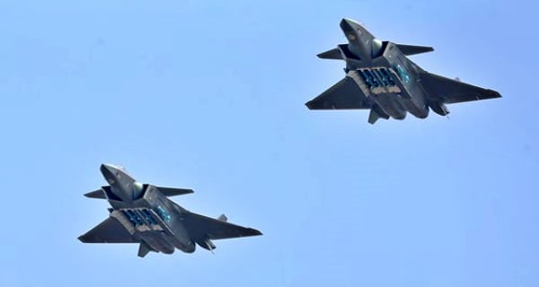 Chinese Air Force exercises on LAC