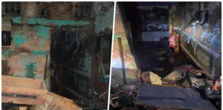Cylinder blast in Shahdara Delhi