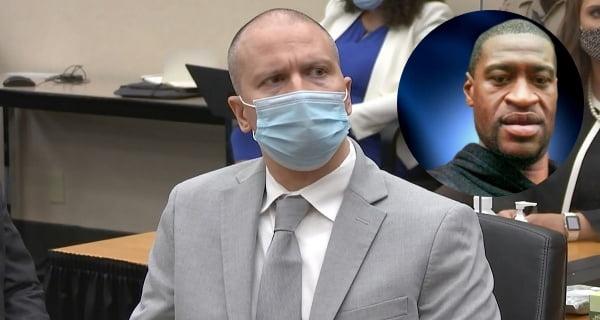 Derek Chauvin jailed