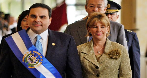 El Salvador ex-president's wife