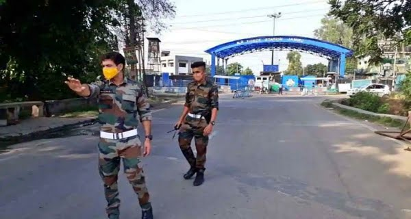 Explosion in Jammu Technical Airport area