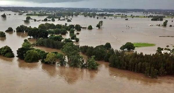 Flood havoc in south-east Australia