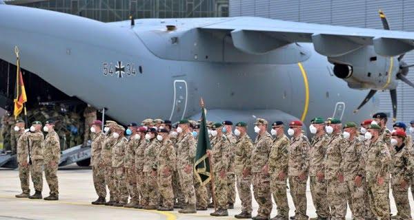 German soldiers left Afghanistan1
