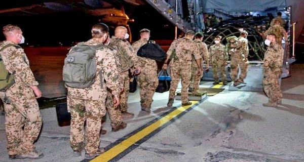 German soldiers left Afghanistan