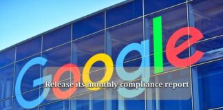 Google-monthly-compliance-report